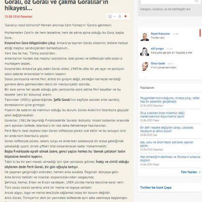 Hürriyet - 25.08.2014