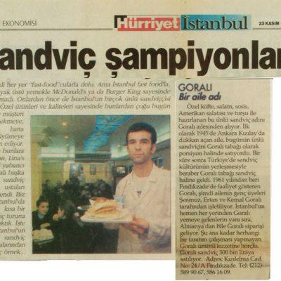 Hürriyet - 23.11.1998